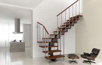 Klicken Sie, um Ihre Fontanot Mittelholmtreppe Genius zu konfigurieren