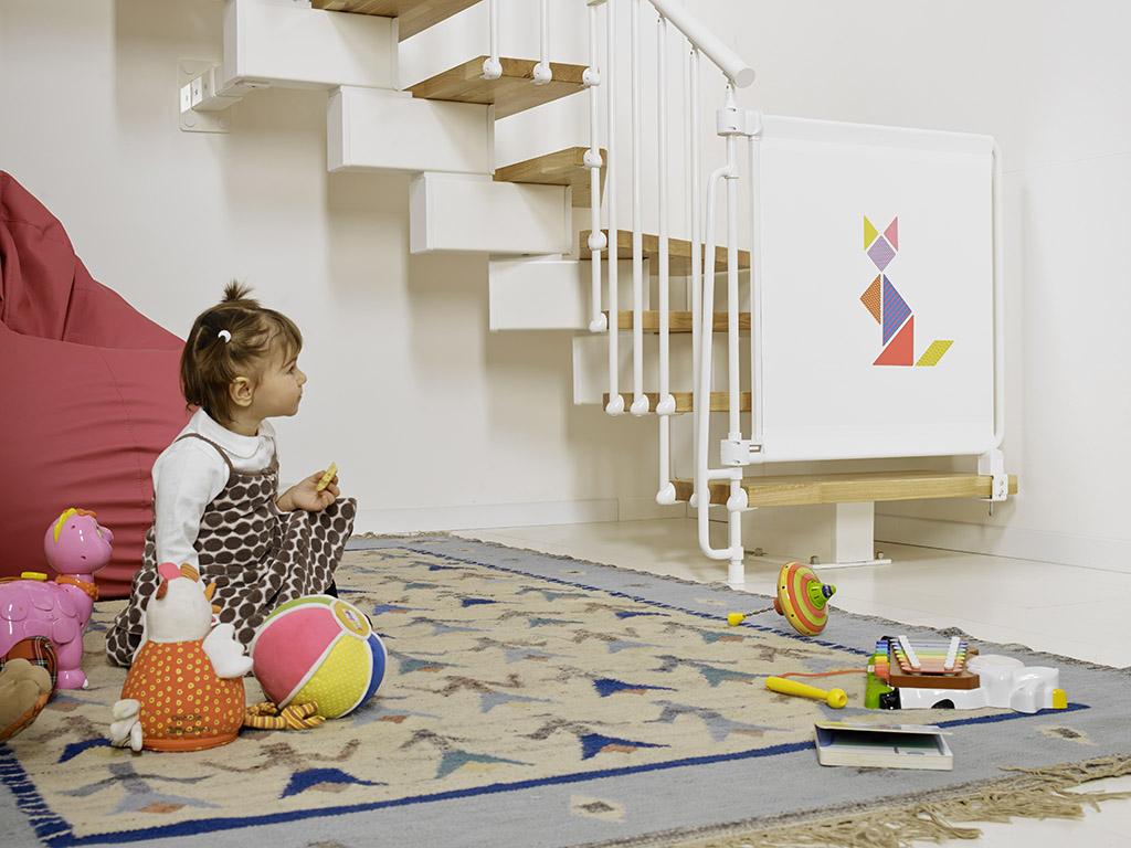 treppenschutzgitter kalypto sicher komfortabel made in. Black Bedroom Furniture Sets. Home Design Ideas