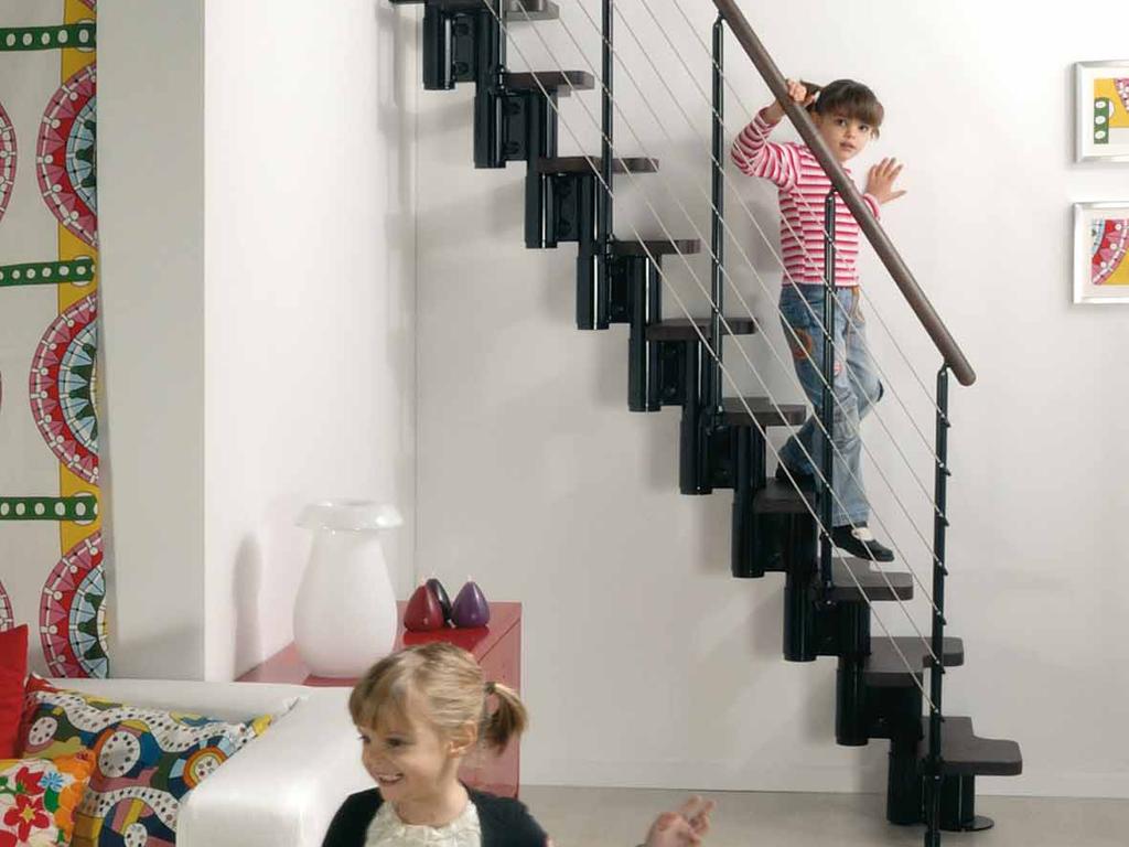 ausziehbare treppe